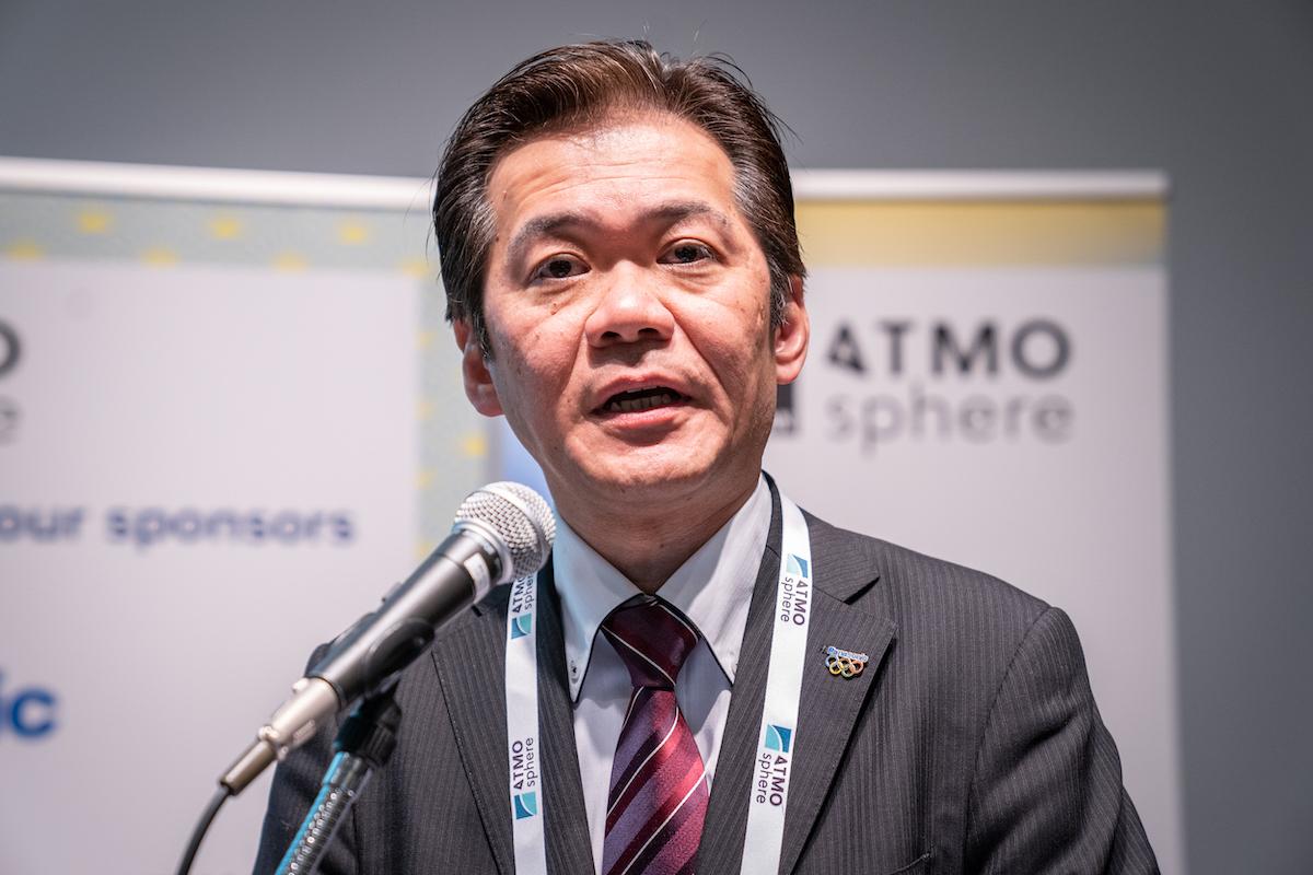パナソニック株式会社アプライアンス社 冨永 弘幸氏(写真は「ATMOSphere Japan 2020」のもの)