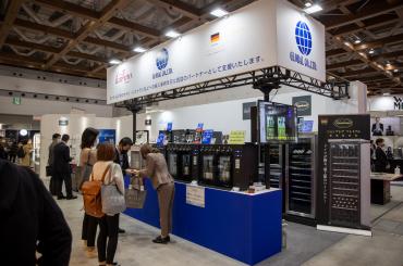 「HCJ2021」に出展した株式会社グローバルと日仏商事株式会社(写真はグローバルのもの)