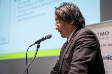 日本熱源システム株式会社 設計部長 黒石 広明氏(写真は「ATMOsphere Japan 2020」のもの)