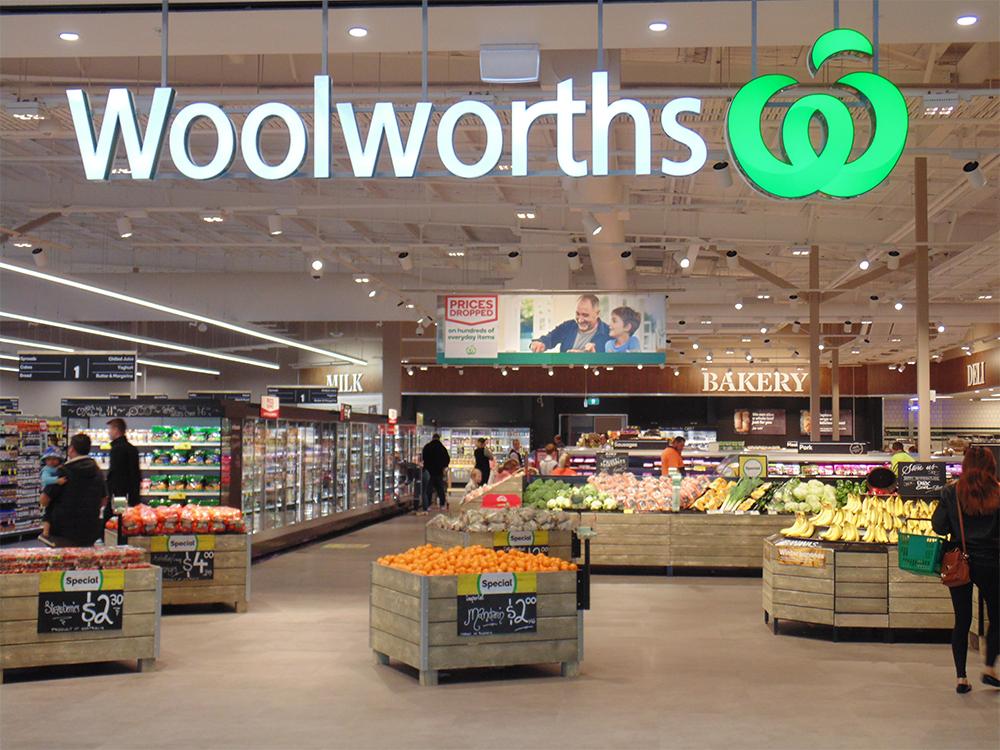 2017年にオーストラリア・ニューサウスウェールズ州のコールビーにオープンしたWoolworths初のCO2採用店舗