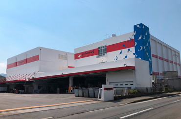ヨコレイの長崎物流センターがリニューアルを完了