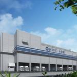 神戸魚崎冷蔵倉庫の完成予想図神戸魚崎冷蔵倉庫の完成予想図