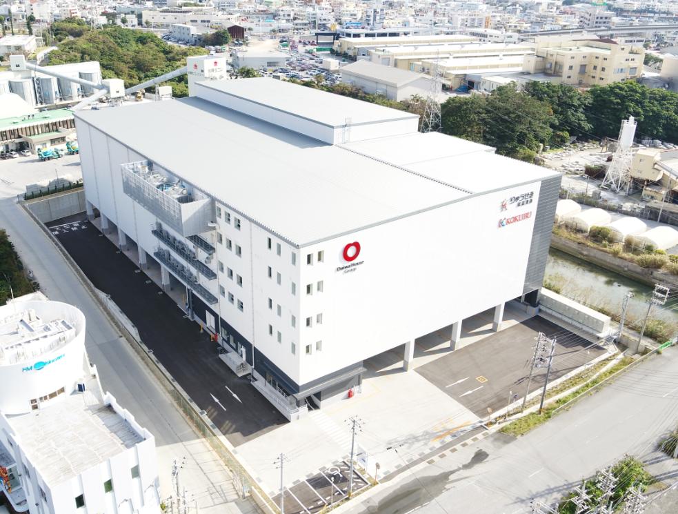 国分グループ本社株式会社のグループ企業、株式会社りゅうせき低温流通の沖縄浦添流通センター