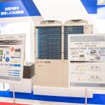「FOOMA JAPAN 2021」に展示された、三菱重工冷熱株式会社の「c-puzzle」20馬力