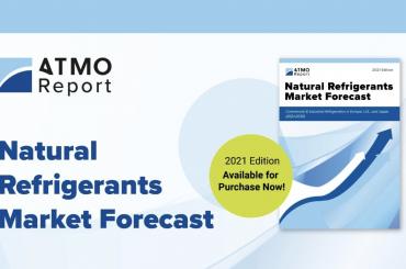 ATMOsphere、『自然冷媒市場予測 2021年版』を発行